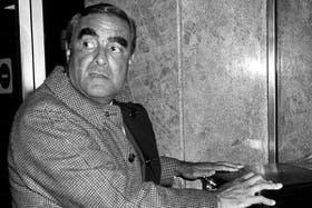 El ex integrante de la junta de gobierno de facto, Emilio Massera, en 1983