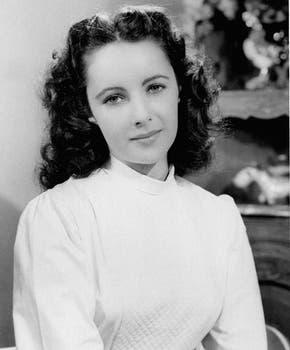 En 1946. Una muy joven Liz.. Foto: AP