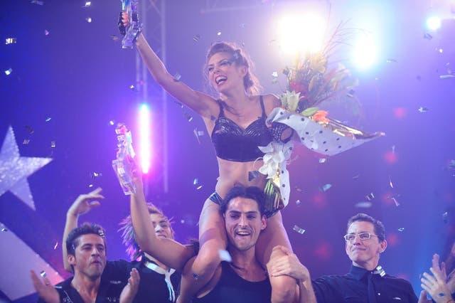 Eugenia, la ganadora de Soñando por bailar
