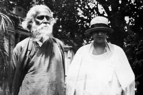 Tagore y Victoria Ocampo, en San Isidro