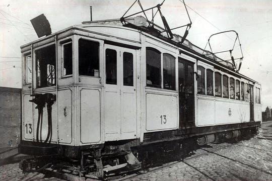 Un modelo de vagón con el que se inauguró la Línea A, Primera Junta - Plaza Miserere; agosto de 1974.. Foto: Archivo