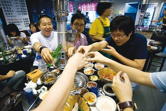Gastronomía. Los sabores de la cocina coreana han sido exportados a todo el mundo. Foto: Corbis