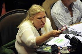 La diputada nacional pidió a la ciudadanía que elija un líder opositor de cara a las elecciones