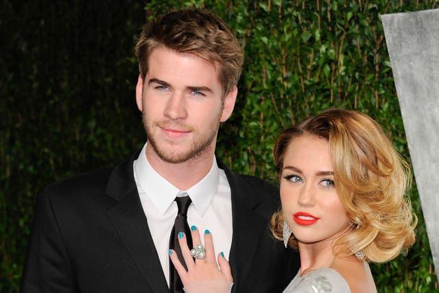 Un romance de jóvenes: Miley Cyrus y Liam Hemsworth