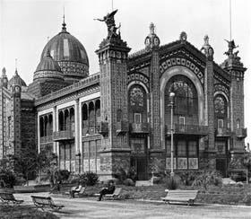 El imponente Pabellón Argentino que participó de la Exposición Universal de París en 1889