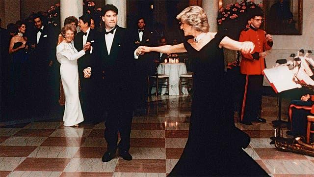 El día en que bailó con John Travolta en la Casa Blanca