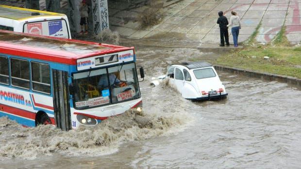 Fuertes lluvias en San Juan