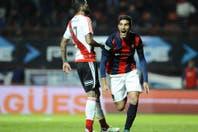 Con dos goles de Blandi, San Lorenzo le ganó a River e igualó a Godoy Cruz en la punta de la Zona 1