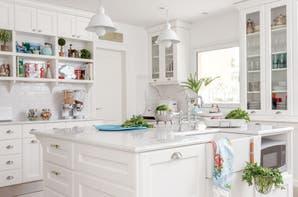 Cocinas de punta en blanco
