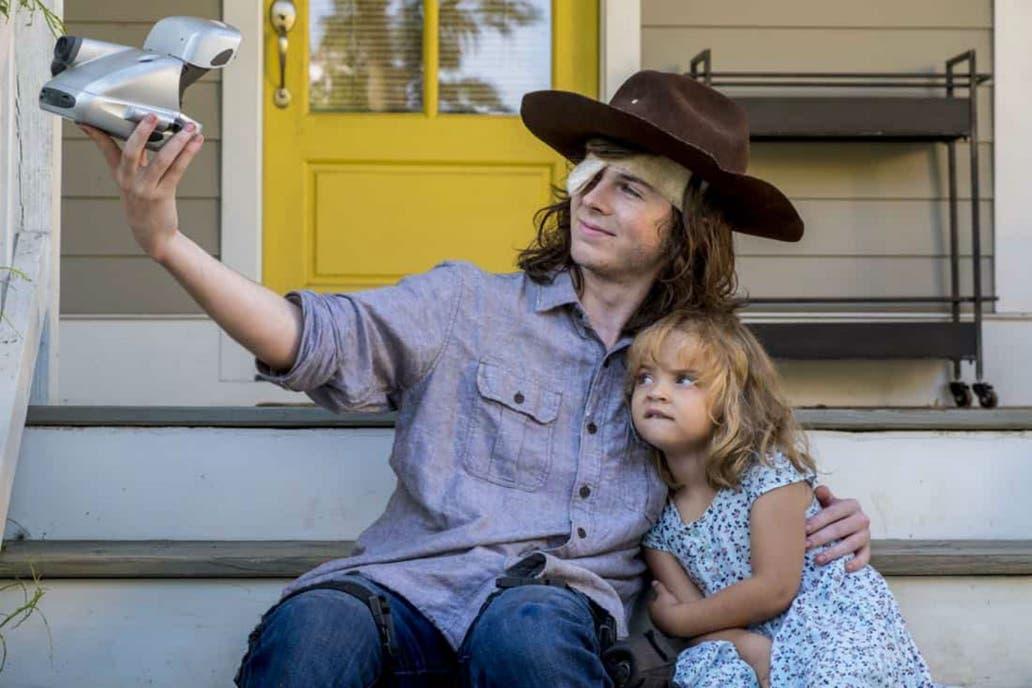 Se filtraron imágenes de una posible muerte en 'The Walking Dead'