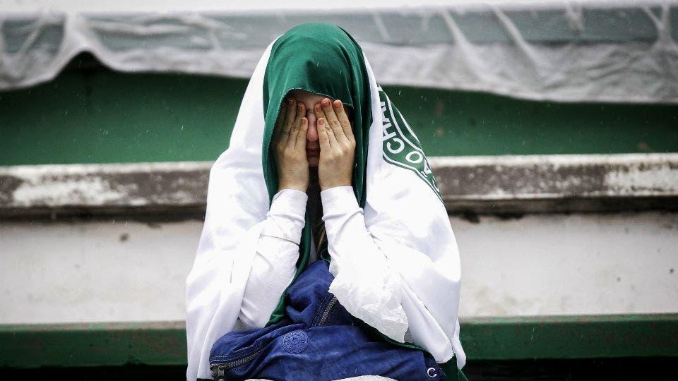 Las imagenes más tristes del velorio de las víctimas de la tragedia aérea. Foto: AP / Reuters, AFP