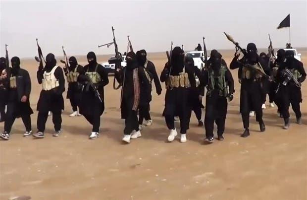Miembros de EI, en un video de propaganda