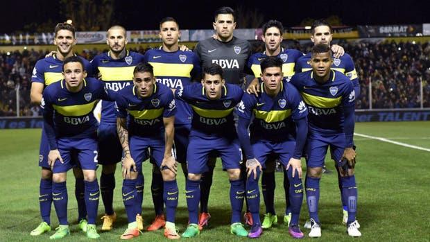 El campeón: así formó Boca en Bahía Blanca