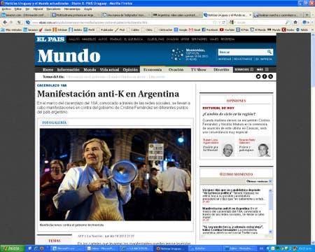 El País, de Uruguay.