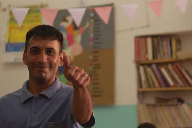 Ramón es el coordinador de El Ágora