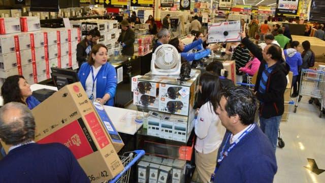 Las compras en Chile son un imán para los argentinos