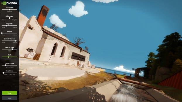 Ansel de Nvidia ofrece libertad de control de cámara, ajustes de iluminación y filtros en la captura de imágenes en videojuegos.