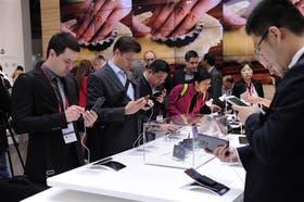 El congreso mundial de celulares, en Barcelona, mostró la tecnología más avanzada