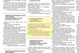 La contratación a SAI SRL en el Boletín Oficial