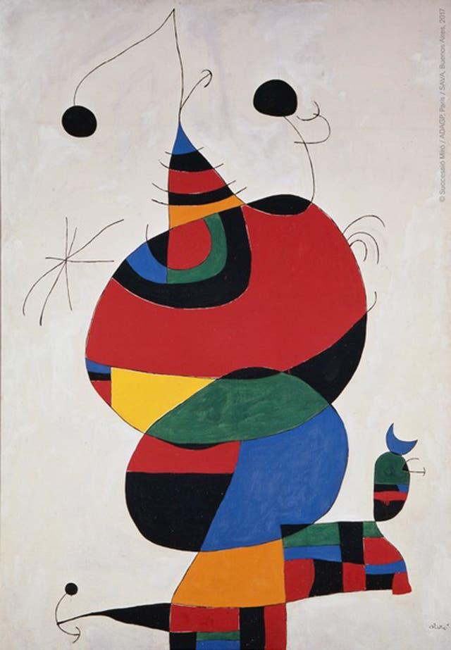 Mújer, pájaro y estrella (Homenaje a Picasso)