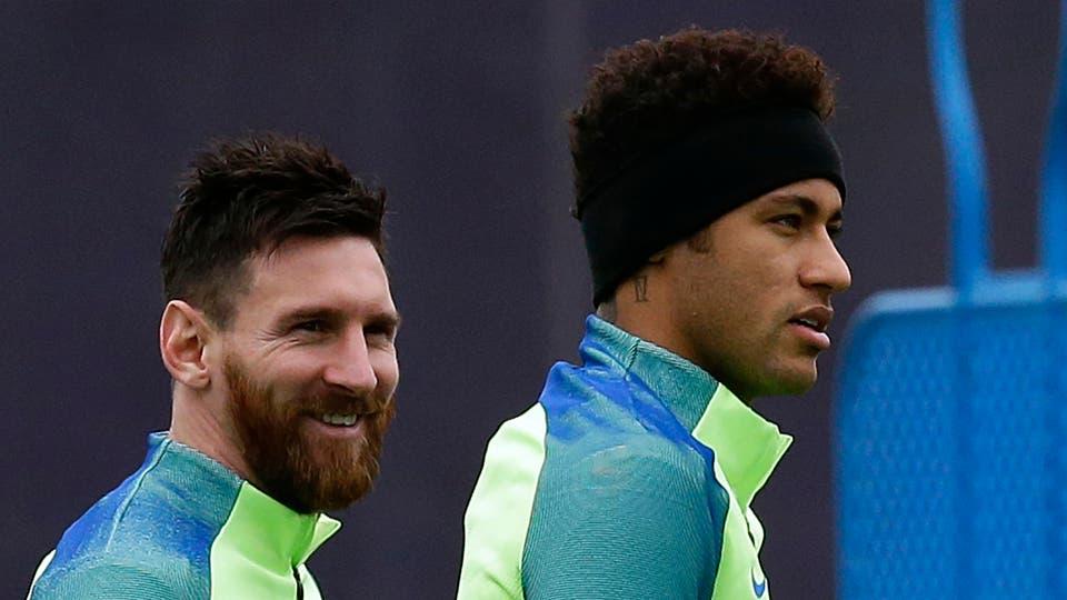 Neymar, su paso por el Barcelona y la amistad con Messi. Foto: Reuters