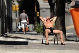El calor se sintió en Buenos Aires