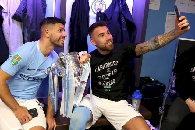 Agüero y Otamendi, sangre argentina en un club multinacional