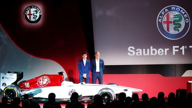 Alfa Romeo celebra oficialmente su regreso a la Formula 1