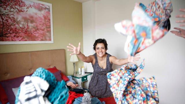 Sabrina Olmedo hizo del soltar un estilo de vida: se desprende de objetos en forma sistemática