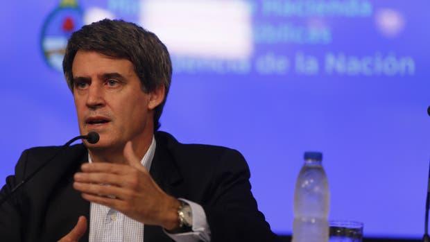 El ministro de Hacienda y Finanzas, Alfonso Prat-Gay