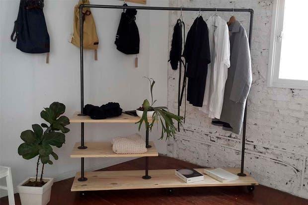 Muebles y accesorios en madera y hierro - La Vida con Estilo - ESPACIO ...