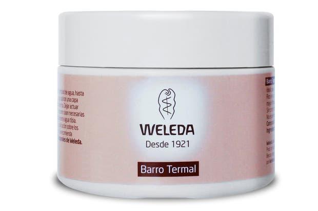 Barro termal exfoliante, rico en nutrientes minerales y oligoelementos, otorga firmeza, tonicidad y elasticidad a la piel. $220, Weleda.