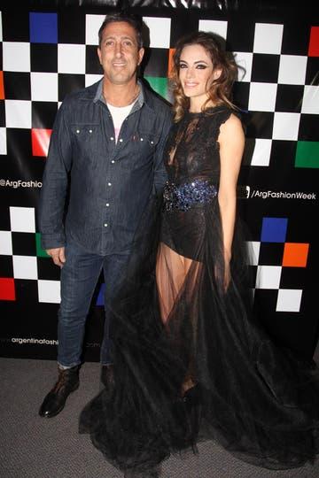 El Turco Naím, pareja de la actriz, no podía faltar. Foto: Gerardo Viercovich