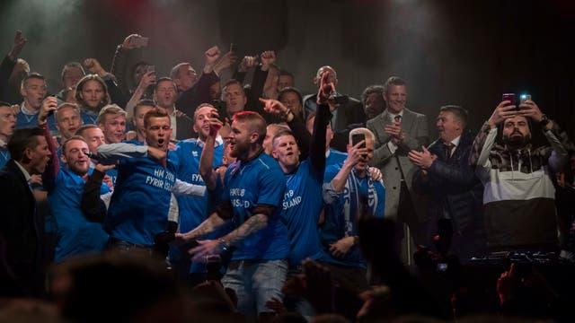 Islandia recibió con alegría la noticia de que jugaría contra la Argentina en el Mundial