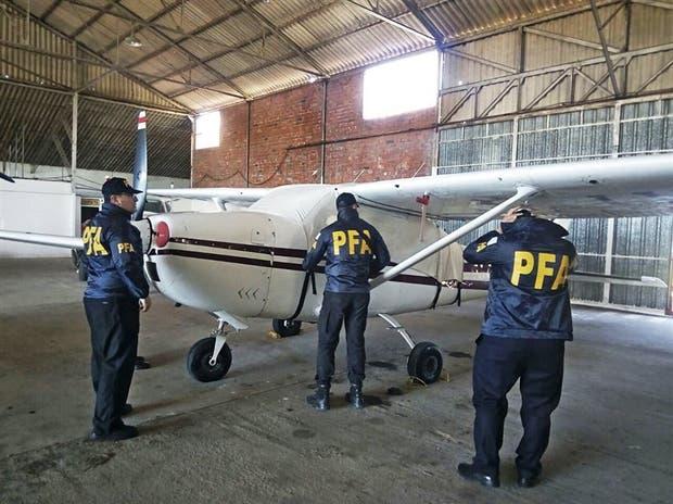 La Policía Federal secuestró una avioneta en Resistencia