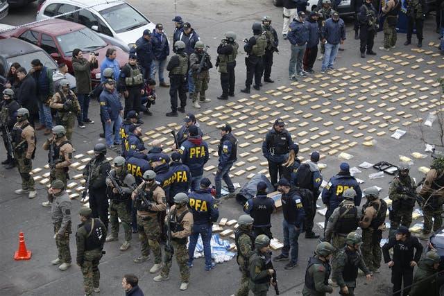 Gendarmería y la Policía Federal incautaron más de 500 kilogramos de marihuana y 50 kilogramos de cocaína