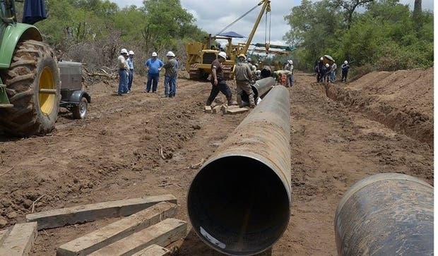 Las obras del gasoducto serán retomadas tras varias postergaciones