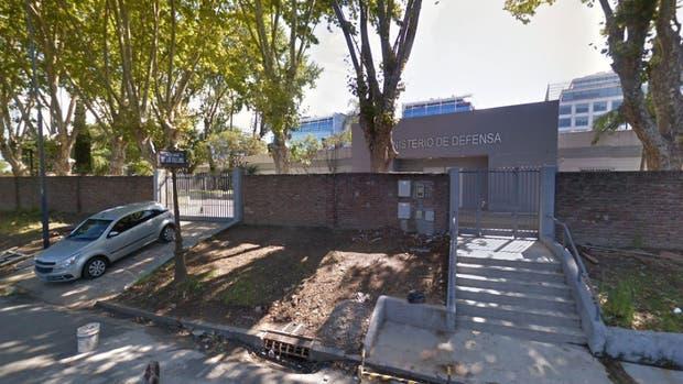 La dependencia del Ministerio de Defensa, en Puerto Madero.