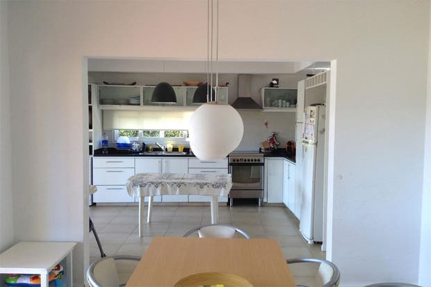 Caso 314: ¿cómo organizarías esta cocina integrada?   living ...