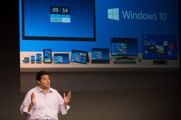 Windows 10 estará disponible para las diferentes versiones de equipos, sea un teléfono, tableta, computadora personal o pantalla de TV