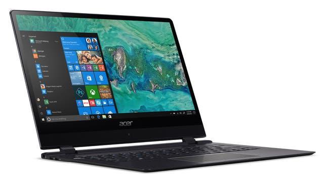 Una Acer Swift 7, la más delgada del mundo: menos de 9 mm
