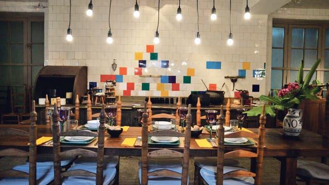 El Palacio Sans Souci es el inmejorable marco para este restaurante de cocina de autor