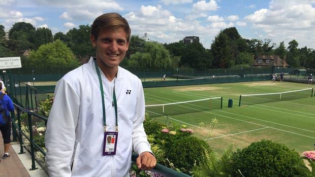 Axel Geller, en Wimbledon