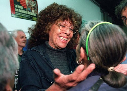 Mónica Carranza, en el comedor Los Carasucias, en 2001. Foto: Archivo