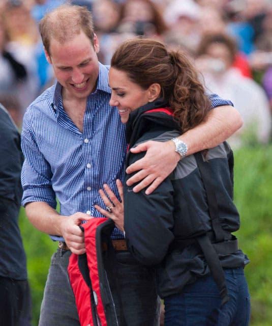 La joven pareja no teme mostrar su cariño mutuo y nos regalan imágenes de mucha ternura en cada aparición pública. Foto: /Getty Images