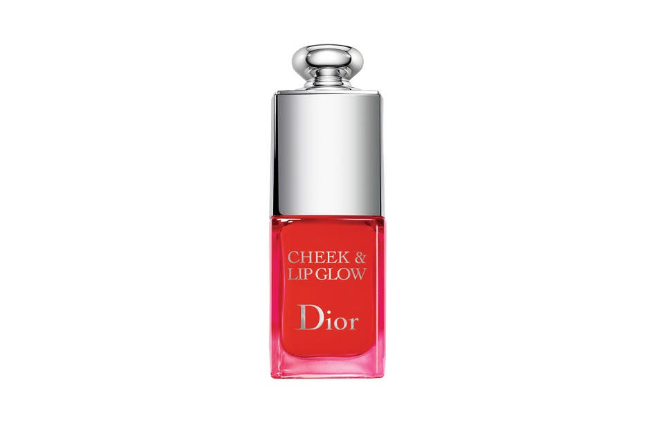 Cheek and Lip Glow Instantant Blushing Rosy Tint 001 ($550, Dior).