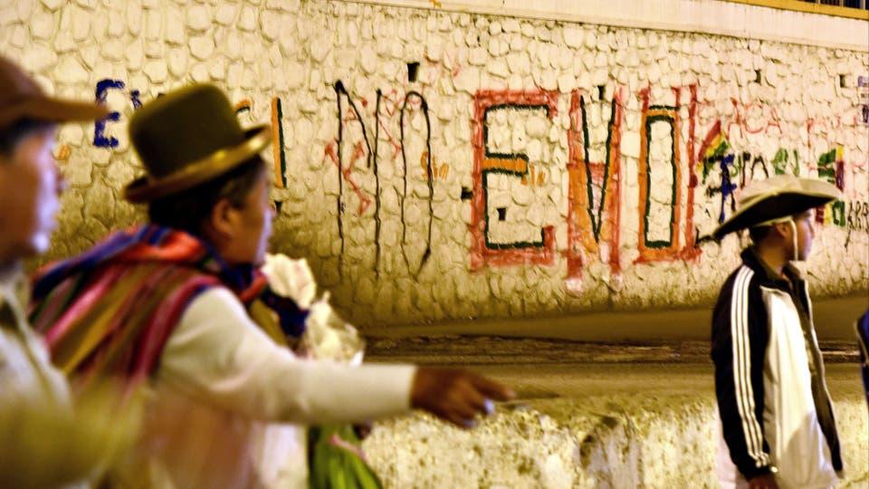 Los bolivianos votaron en el referéndum que define el futuro político de Evo Morales. Foto: AFP
