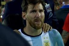 Desconsolado y sin respuestas: el llanto de Lionel Messi por perder otra final con la selección argentina