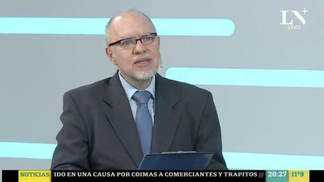 Fernández Díaz habló de la situación en Santa Cruz