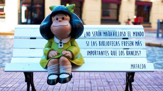 La última aparición de Mafalda fue en una publicación del semanario Siete Días en 1973